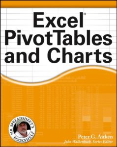 Sách Excel Pivot Tables and Charts pdf